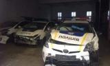 С начала года повреждено 30% автопарка патрульной полиции