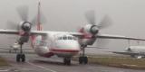Пожарный самолет Ан32П возвращается в Украину из Черногории