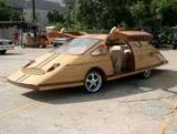 Японцы предложили делать автомобили из дерева