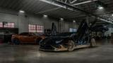 Тюнеры показали черно-золотой Lamborghini Aventador