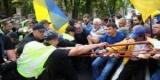 Возле АП произошли столкновения полиции и сторонников Саакашвили