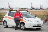 Аэропорт Хитроу пополнил свой автопарк электромобилями Nissan Leaf
