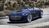 Mercedes-Maybach представил 5.7-метровый кабриолет мощностью 750 л.с. Это электромобиль