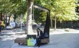 Ford установит Лондон смарт-скамейки с солнечными панелями