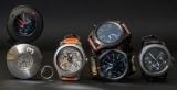 Samsung показал концепт гибридных карманных смарт-часов
