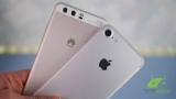 Huawei обошла Apple по продажам смартфонов, до выхода iPhone 8