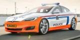 Tesla Model S стала полицейским автомобилем