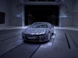 Родстер BMW i8 засветили на видео